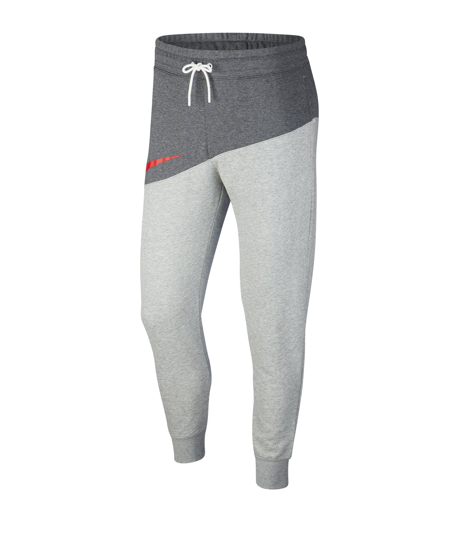 Nike Swoosh Jogginghose Grau F071 - grau