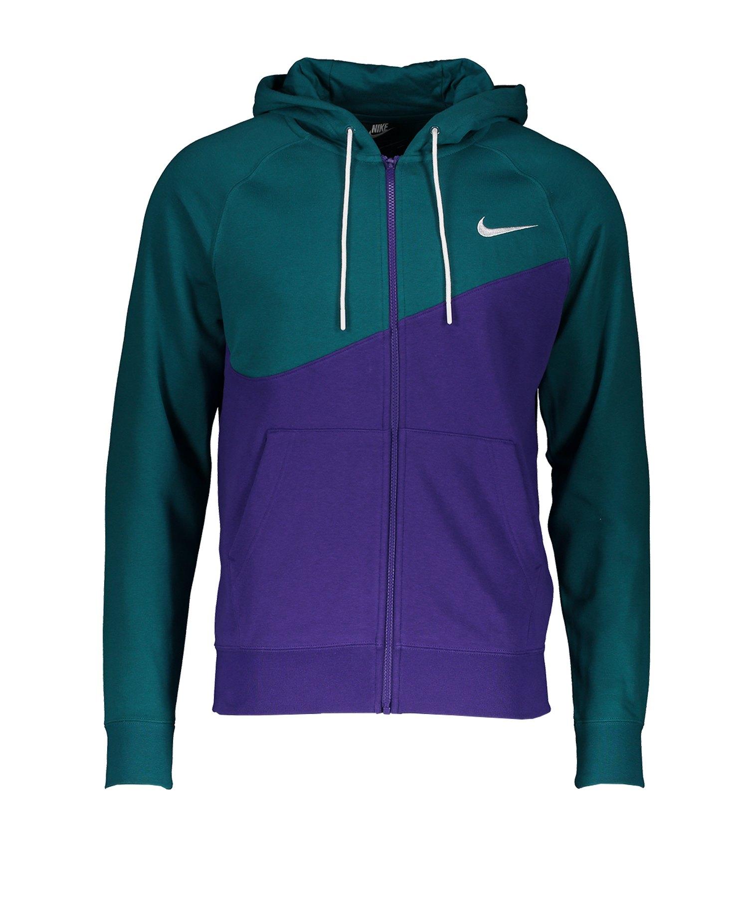 Nike Swoosh Hoody Kapuzenjacke Lila F547 - lila