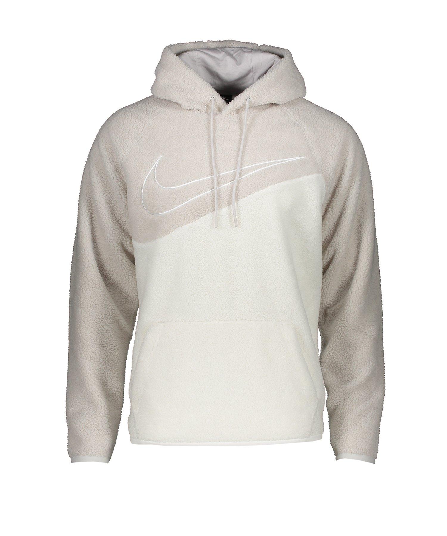 Nike Swoosh Kapuzensweat Hoody Grau F078 - grau