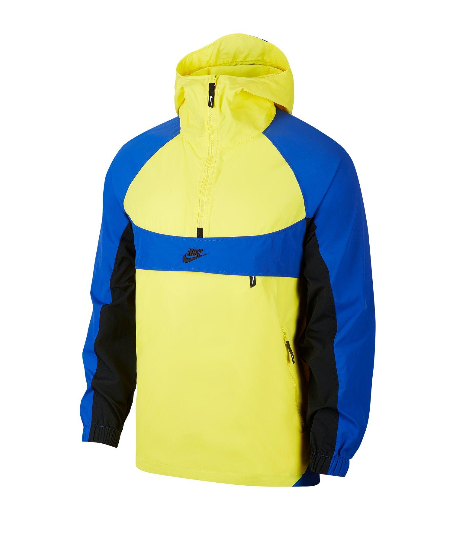 Nike Woven Re-Issue Trainingsjacke Gelb F740 - gelb