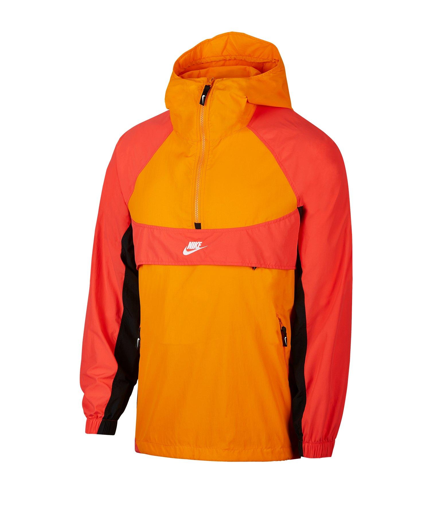 Nike Woven Re-Issue Trainingsjacke Rot F873 - rot