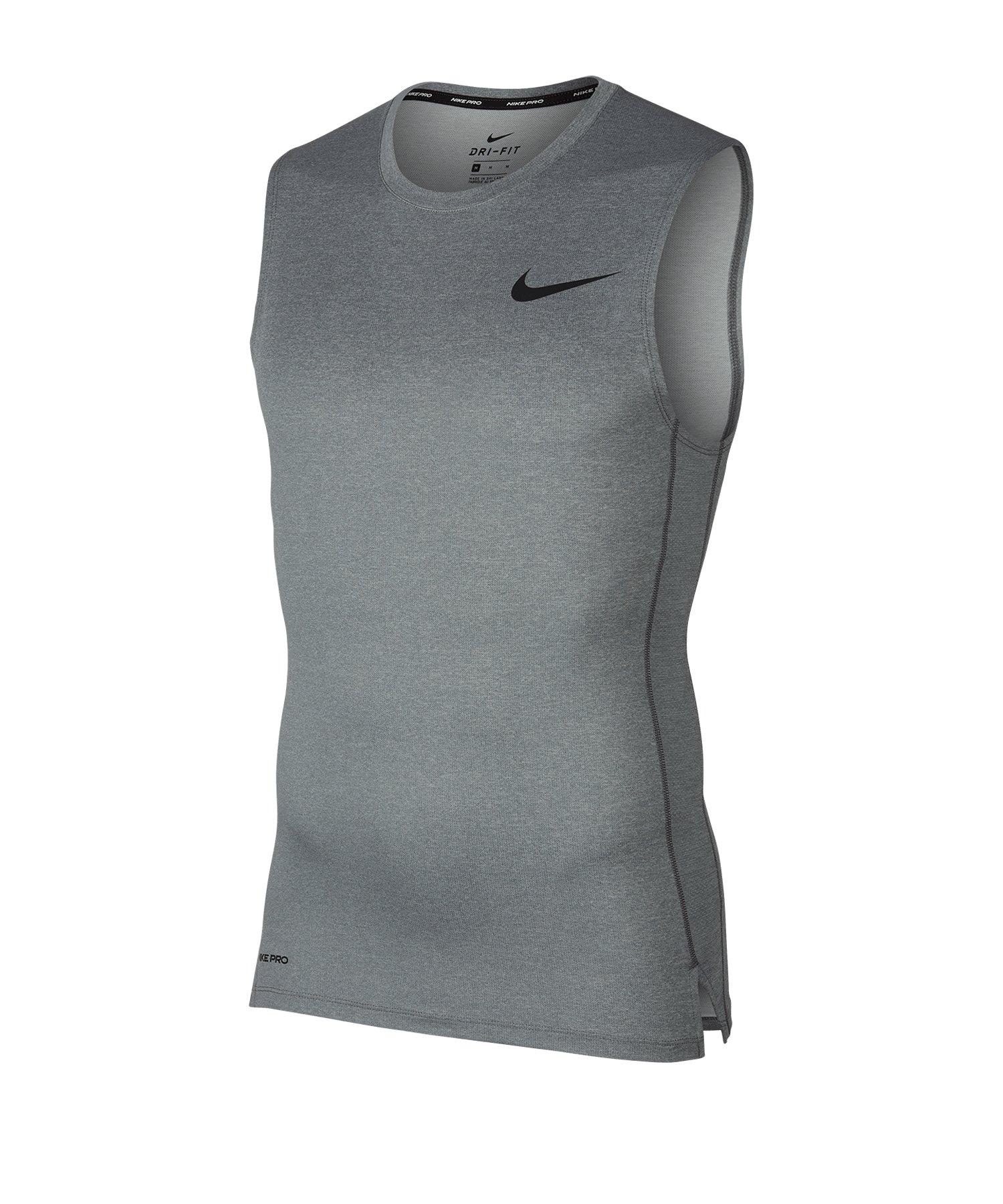 Nike Pro Tanktop Grau F085 - grau