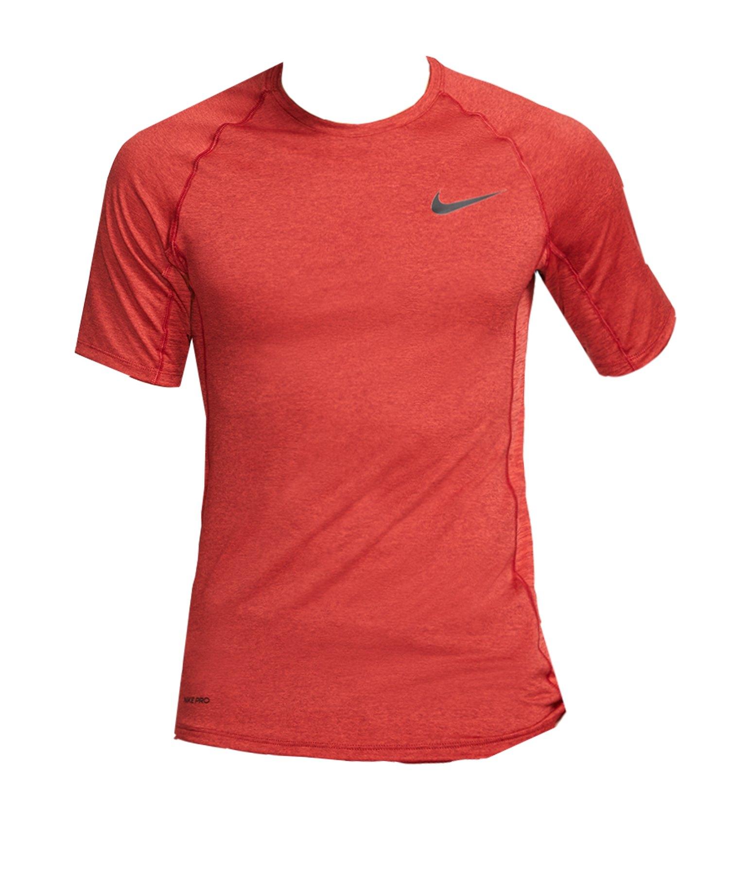 Nike Pro Compression Shortsleeve Shirt Rot F681 - rot