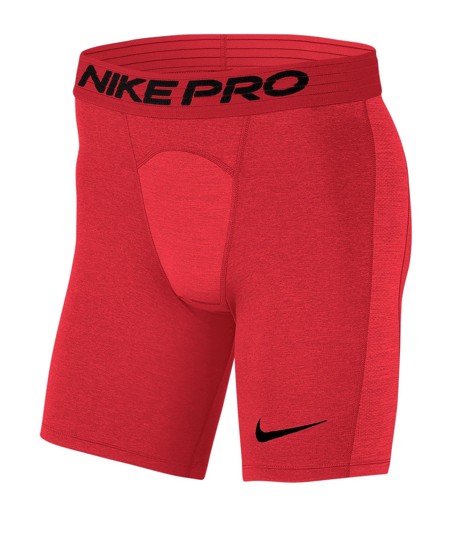Nike Pro Short Rot F657 - rot
