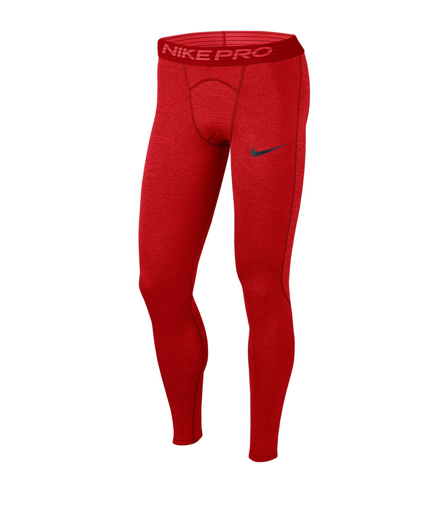 Nike Pro Tight Hose lang Rot F681 - rot