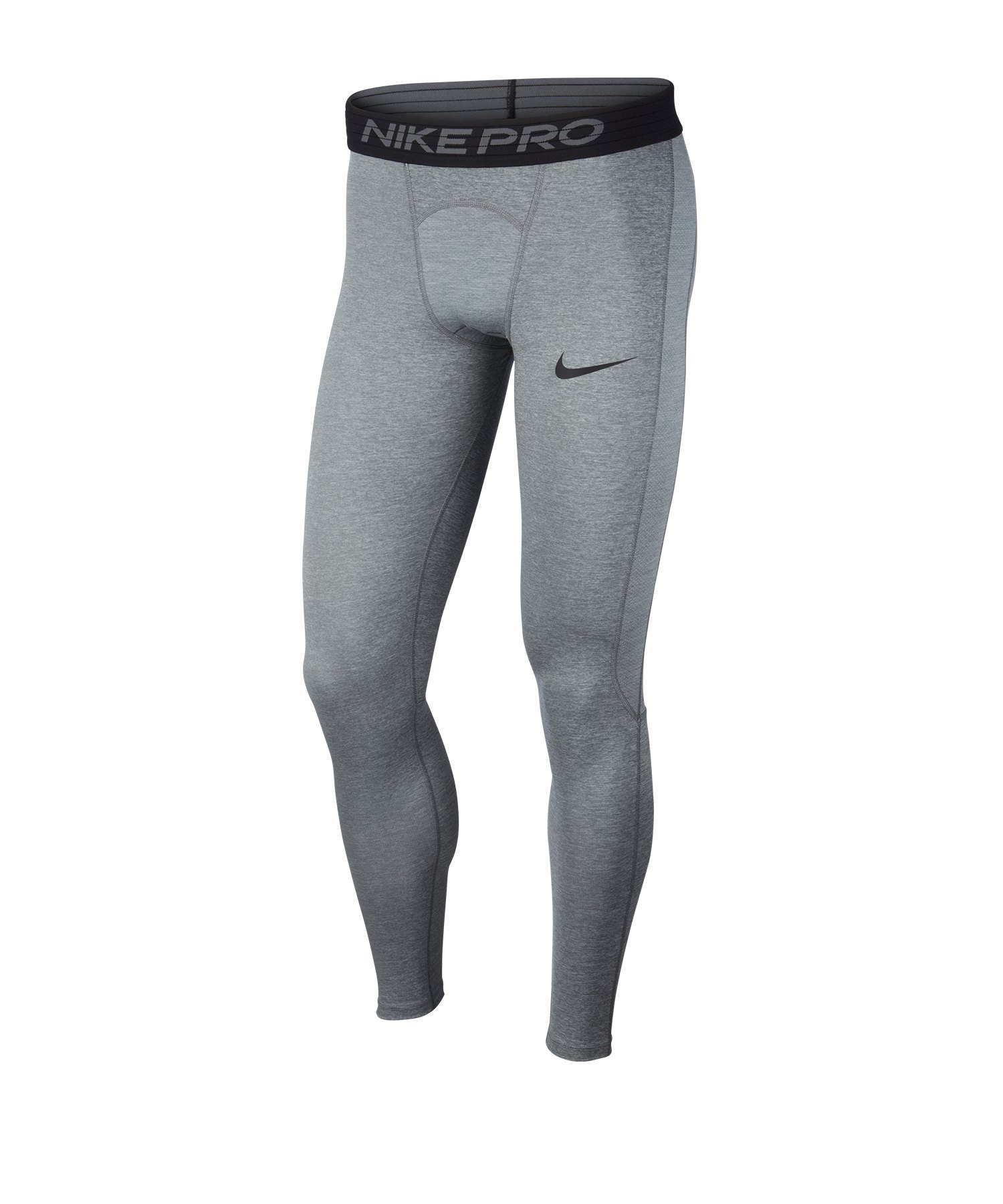 Nike Pro Tight lang Grau F085 - grau