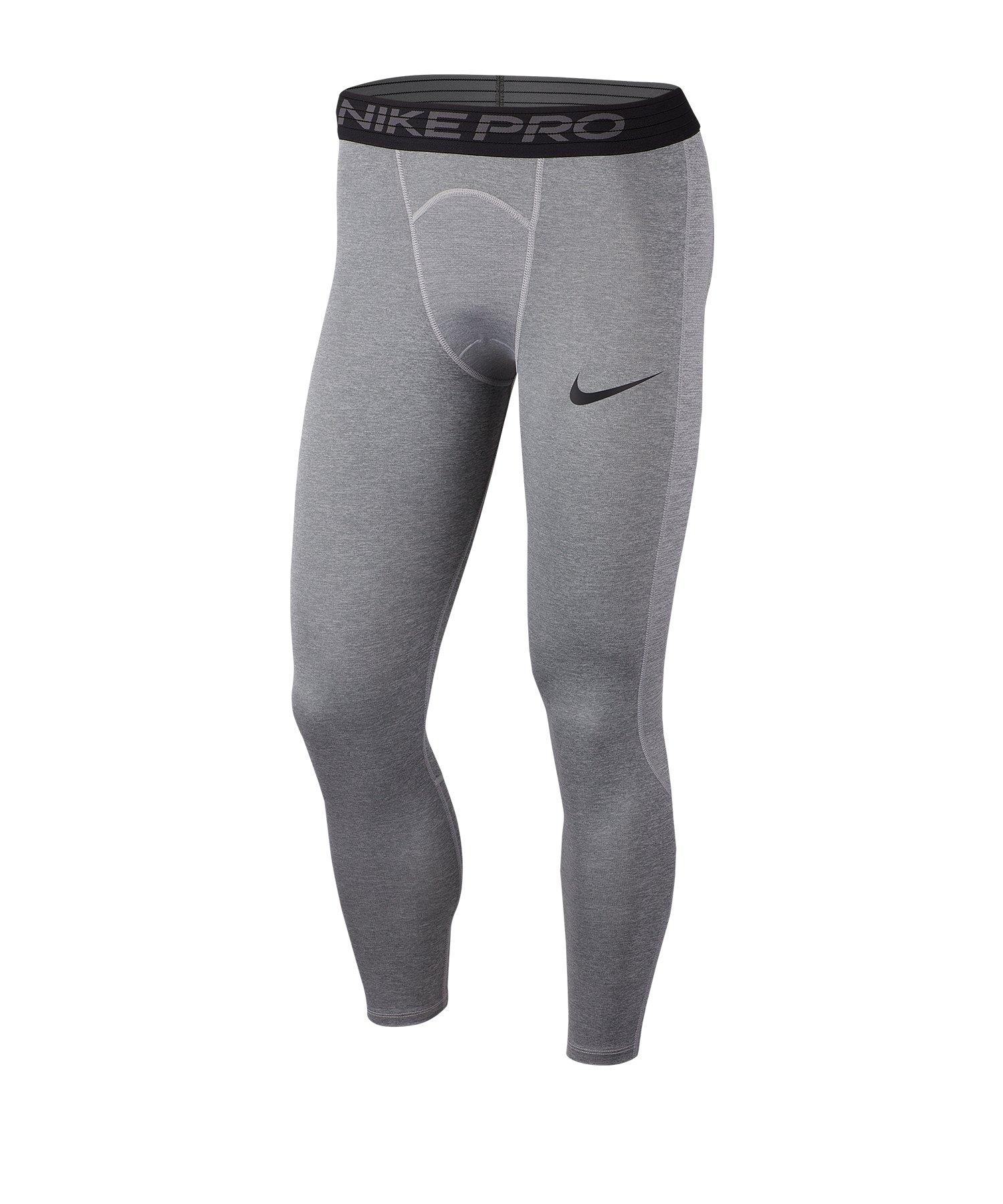 Nike Pro 3/4 Tights Grau F085 - grau