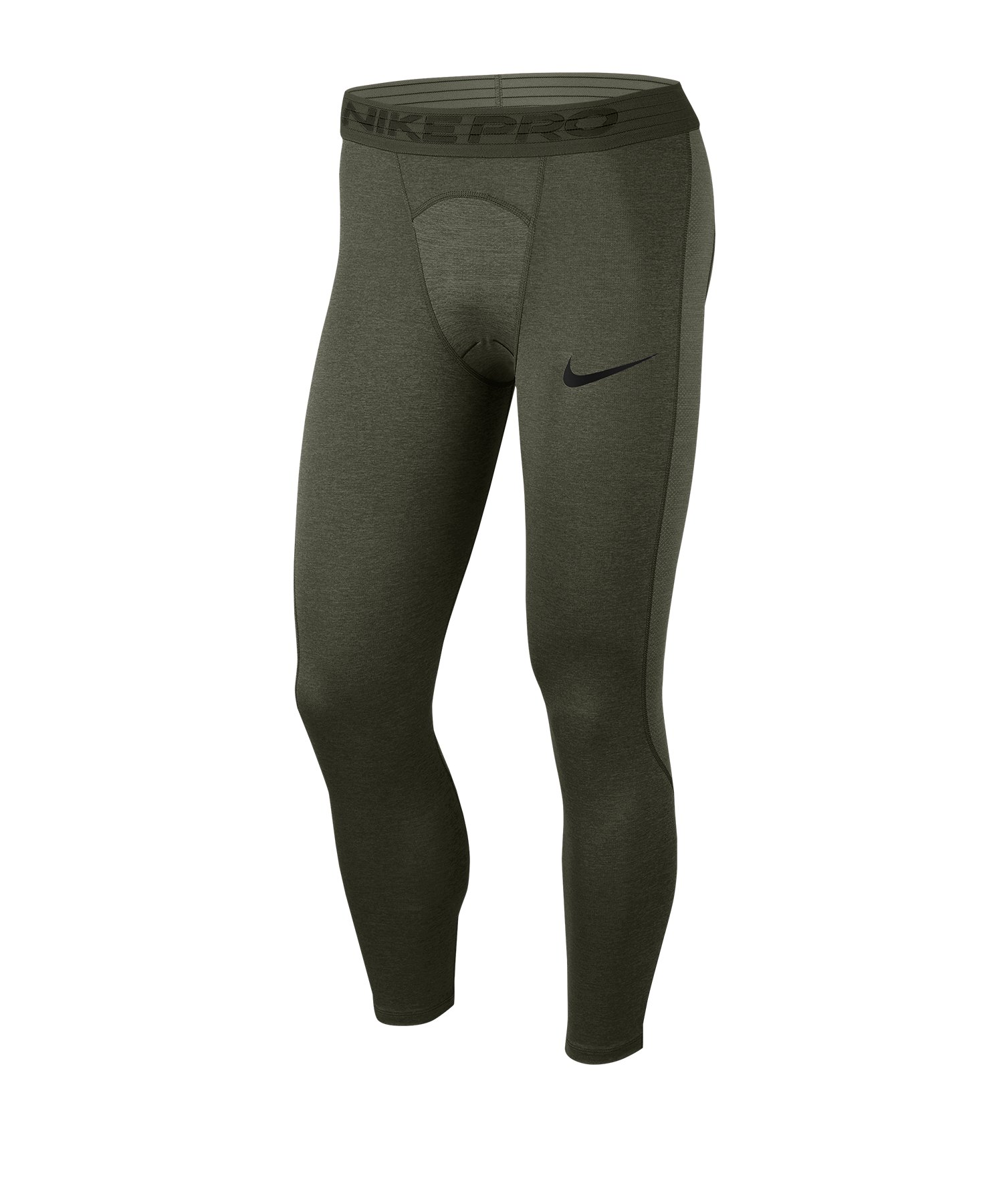 Nike Pro 3/4 Tights Grün F325 - gruen
