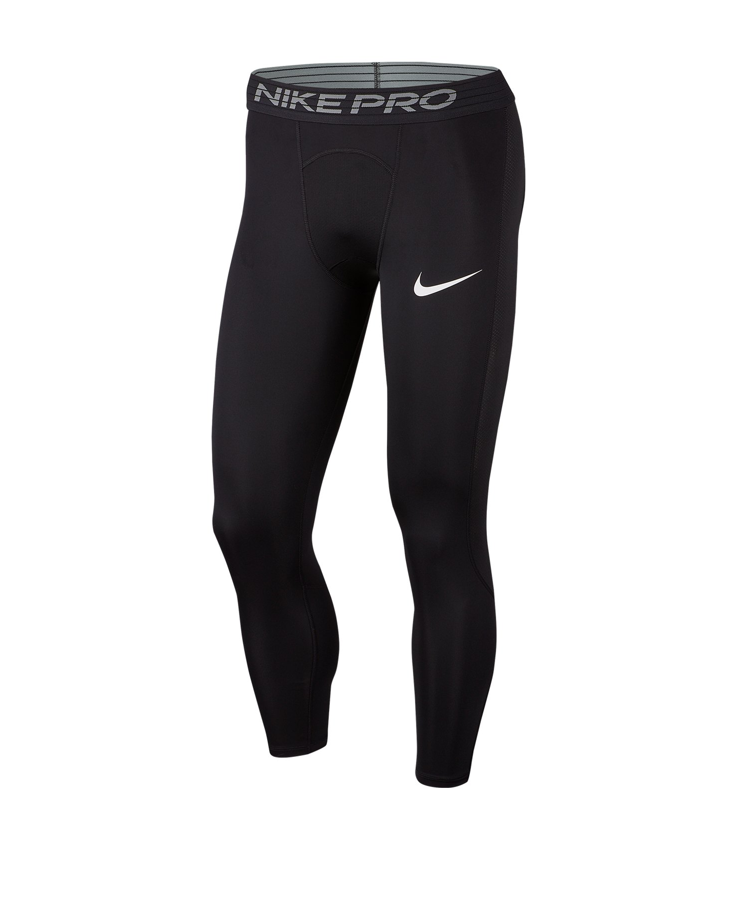 Nike Pro 3/4 Training Tight Schwarz F010 - schwarz