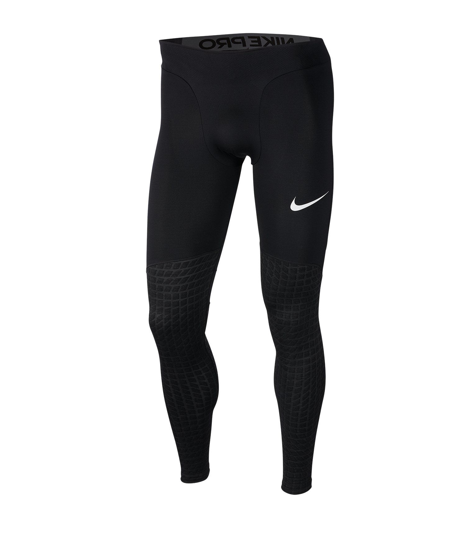 Nike Pro Therma Tight Schwarz F010 - schwarz