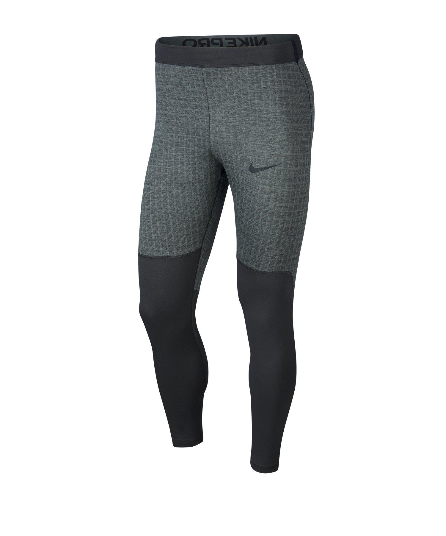 Nike Pro Training Tight Hose lang Grau F084 - grau