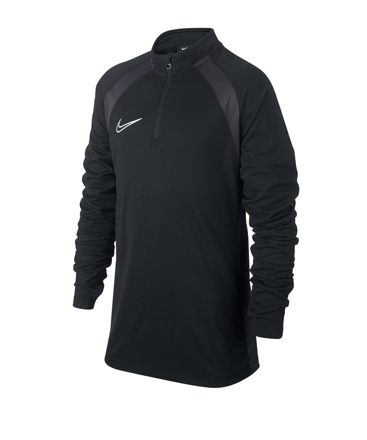 Nike Dri-FIT Academy Drill Top Kids Schwarz F011 - Schwarz