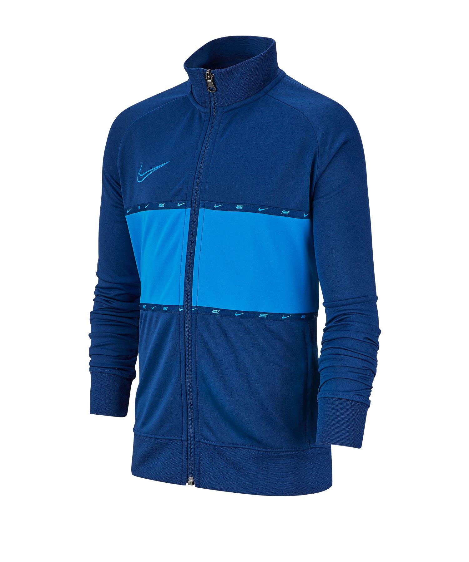 Nike Academy Dri-FIT Trainingsjacke Kids Blau F407 - blau