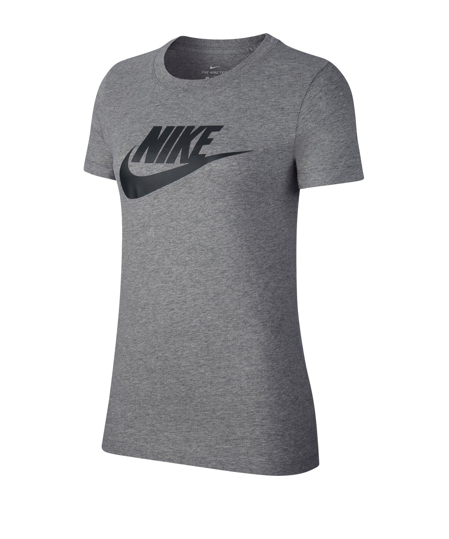 Nike Essential Tee T-Shirt Damen Grau F063 - grau
