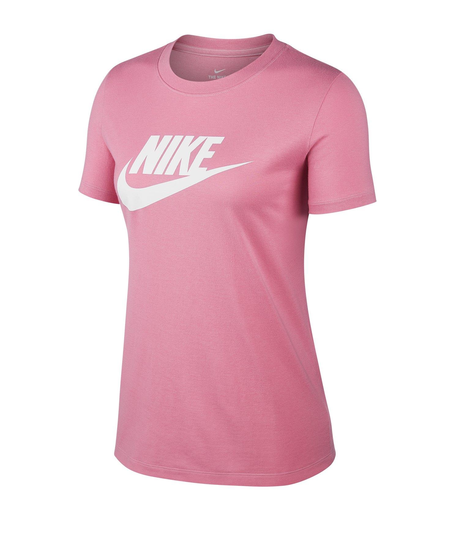 Nike Essential Tee T-Shirt Damen Rot F693 - rot