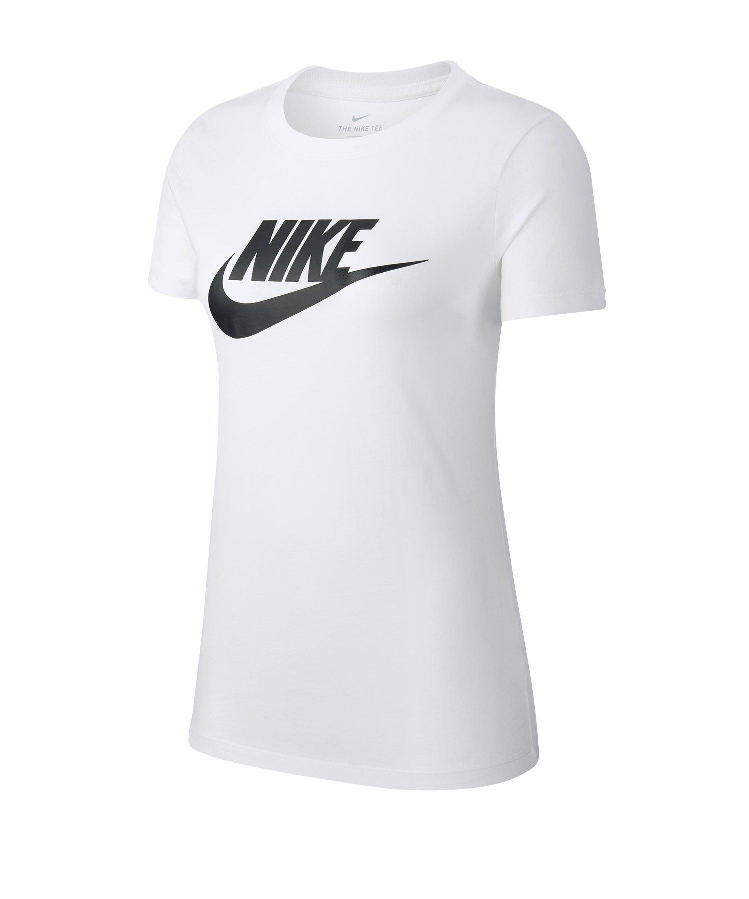 Nike Essential Tee T-Shirt Weiss F100 - weiss
