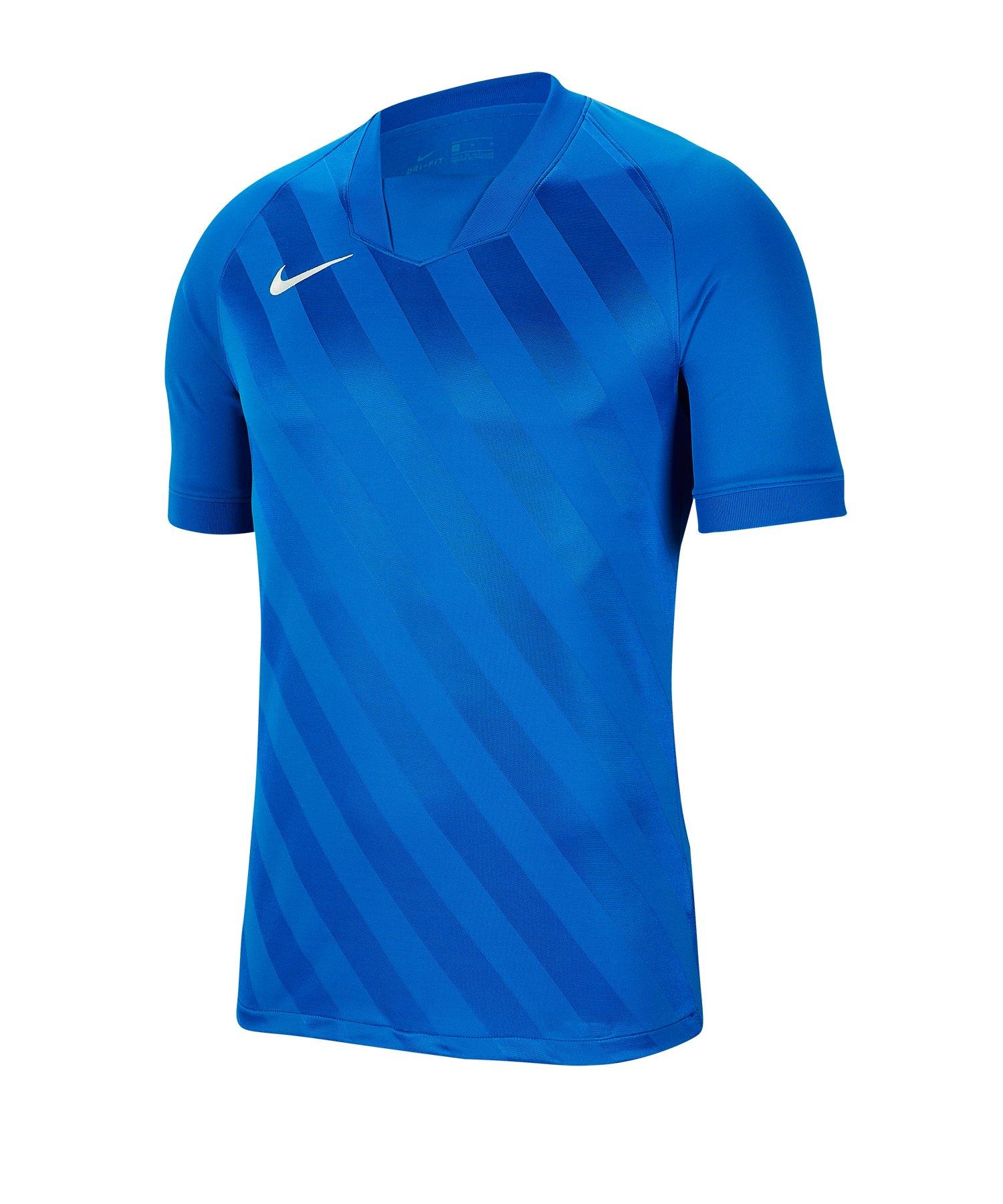 Nike Challenge III Trikot kurzarm Blau F463 - blau