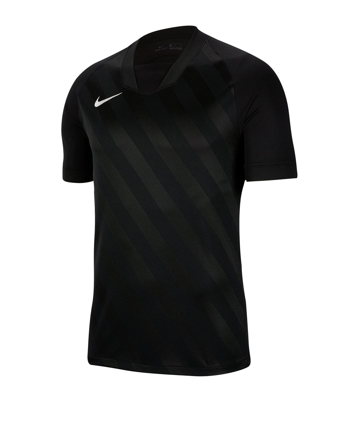 Nike Challenge III Trikot kurzarm Schwarz F010 - schwarz