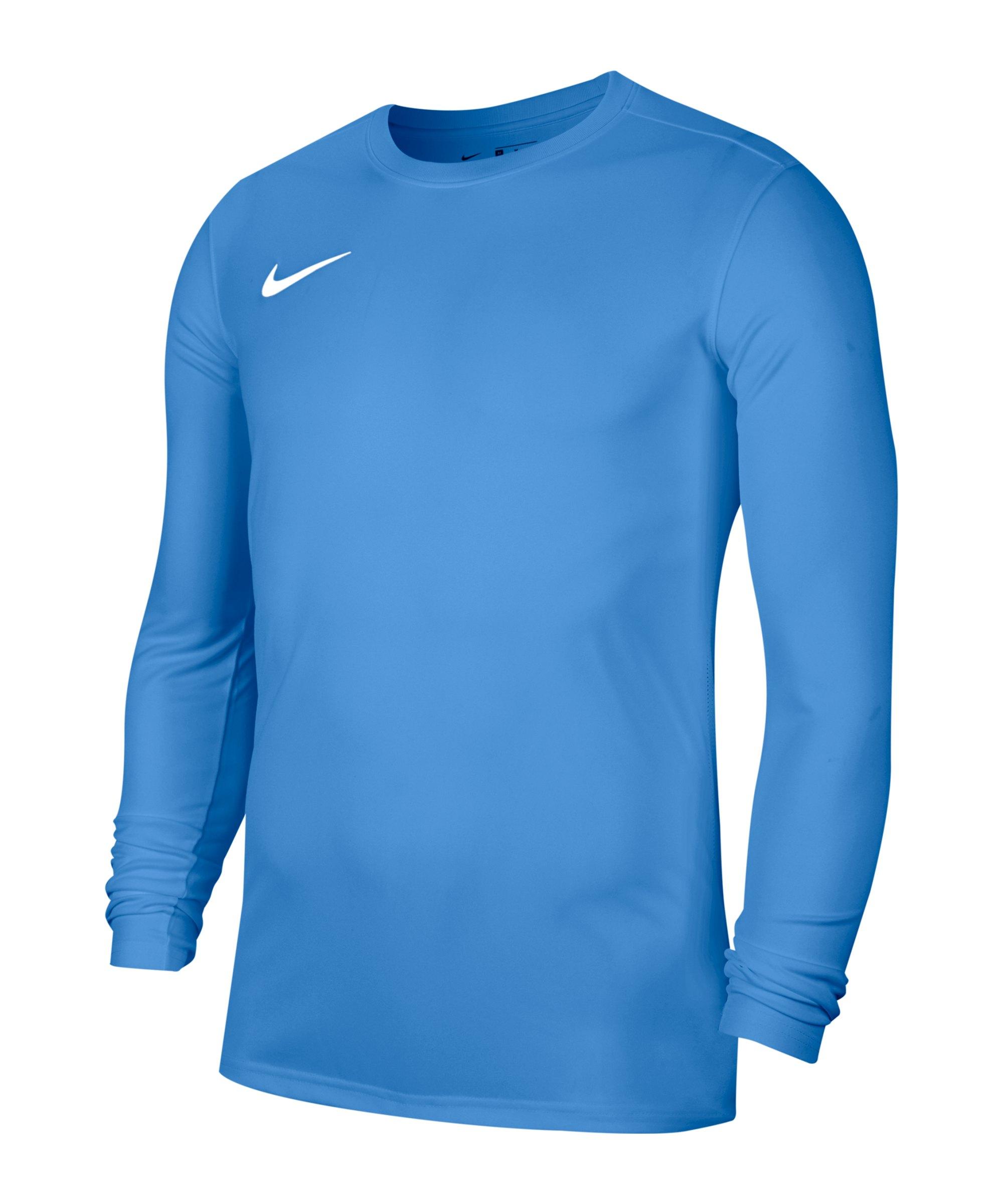 Nike Park VII Trikot langarm Blau F412 - blau