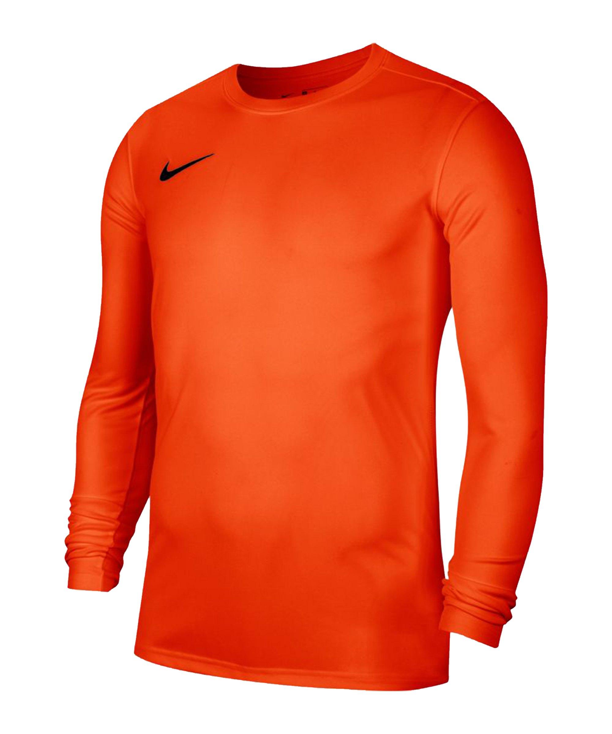 Nike Park VII Trikot langarm Orange F819 - orange