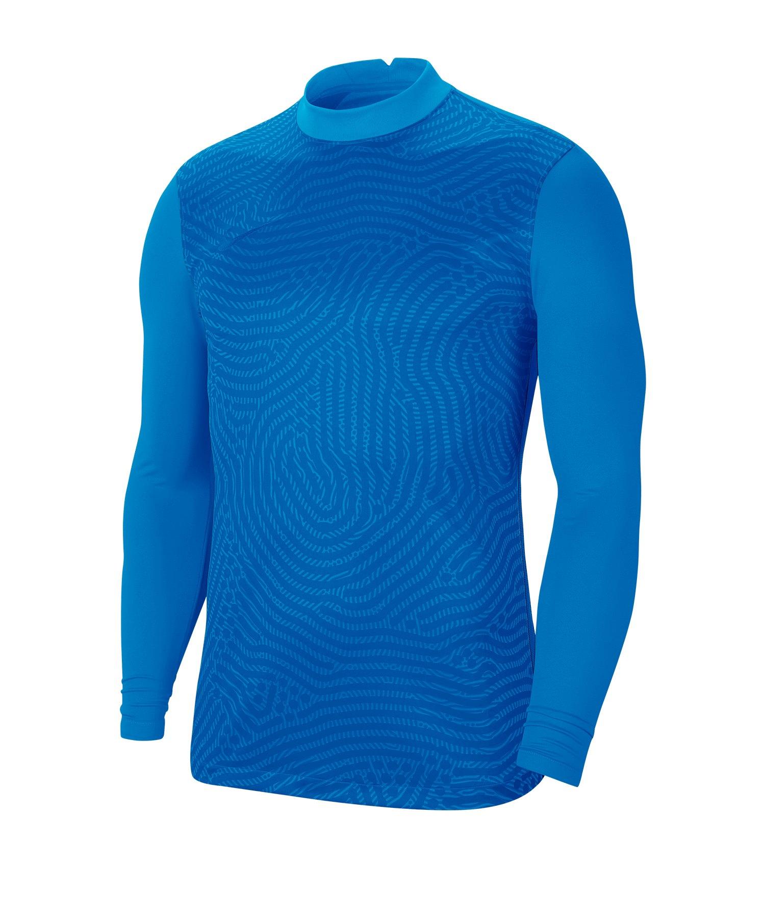 Nike Gardien III Torwarttrikot langarm Blau F406 - blau