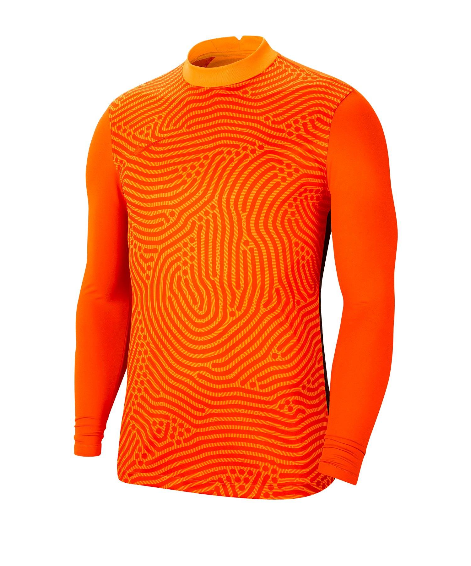 Nike Gardien III Torwarttrikot langarm Orange F803 - orange
