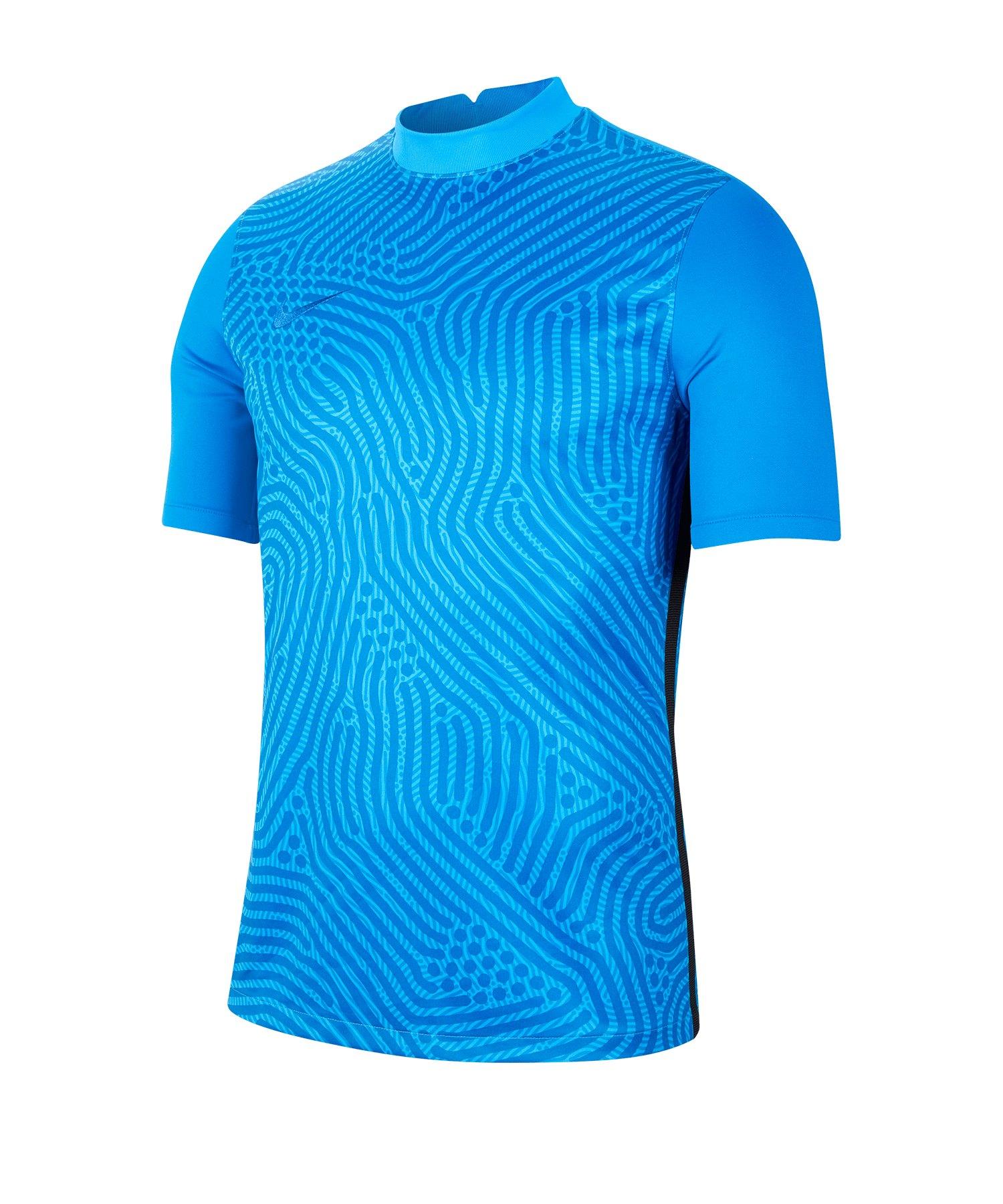 Nike Gardien III Torwarttrikot kurzarm Blau F477 - blau