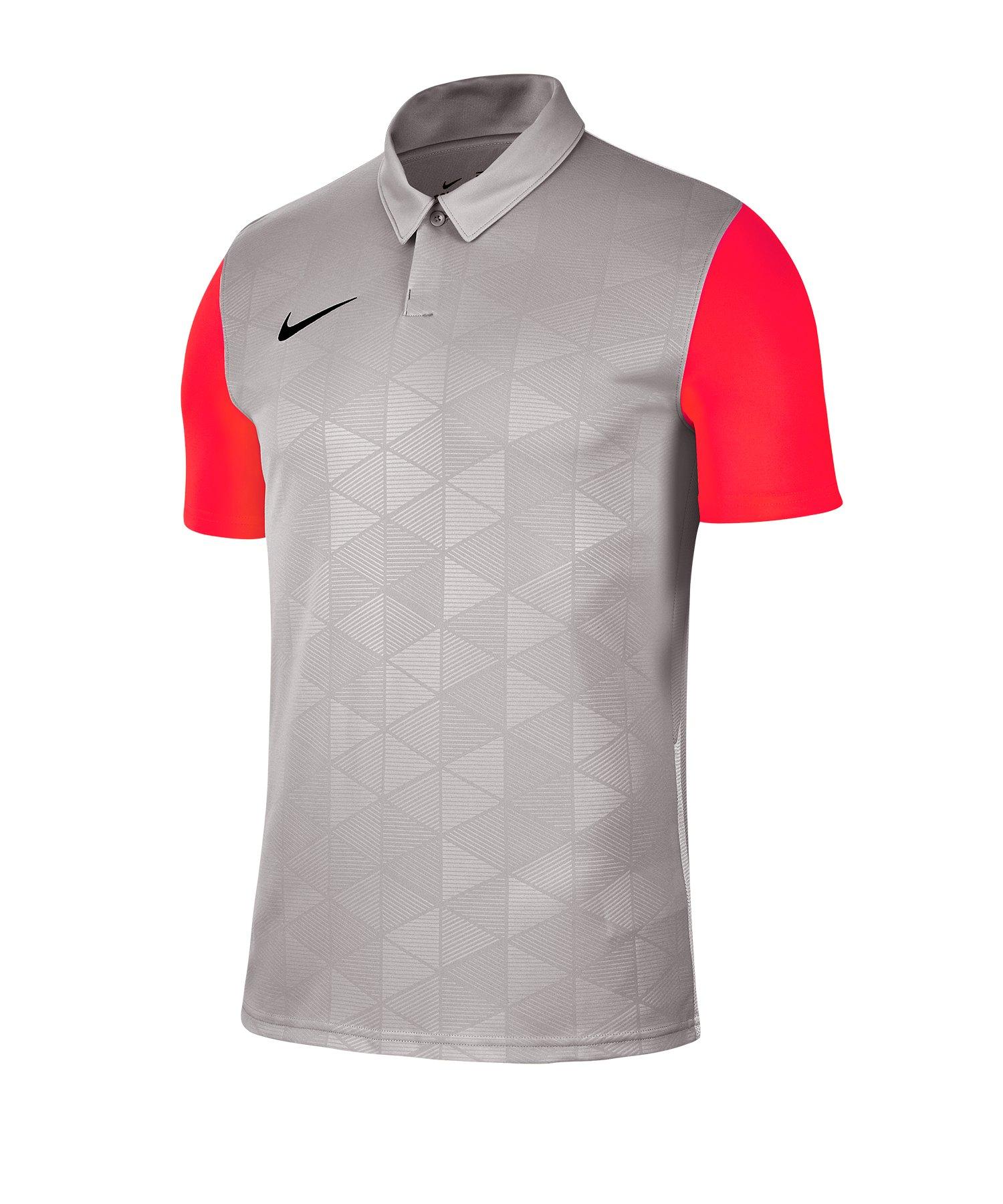 Nike Trophy IV Trikot kurzarm Grau F053 - grau