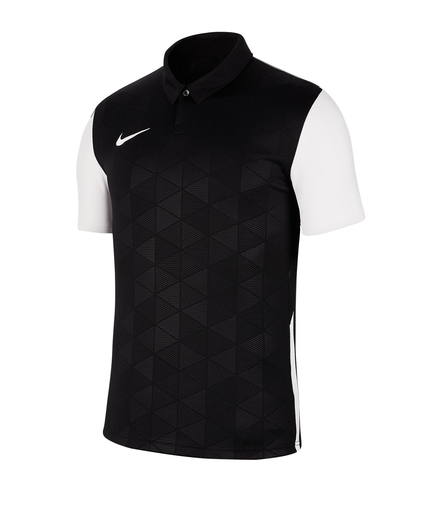 Nike Trophy IV Trikot kurzarm Schwarz F010 - schwarz