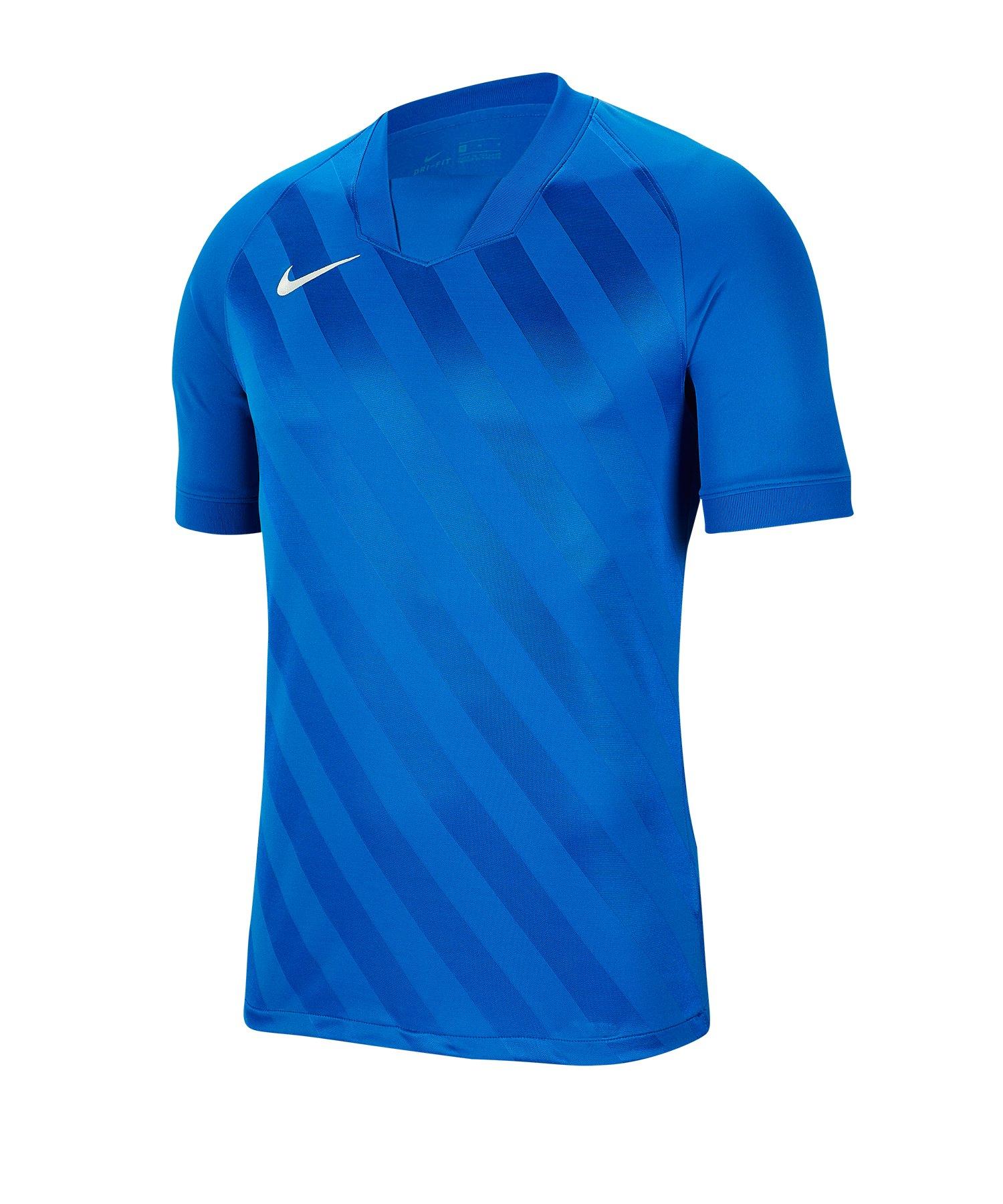 Nike Challenge III Trikot Kids Blau F463 - blau
