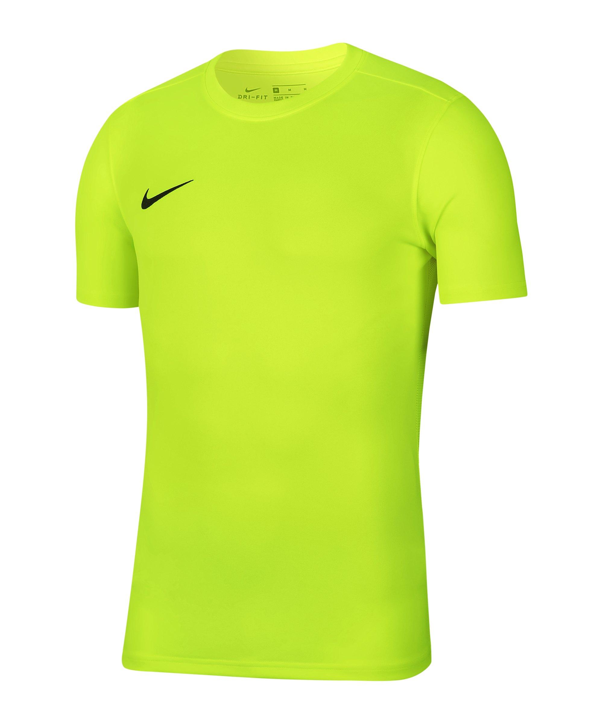 Nike Park VII Trikot kurzarm Kids Grün F702 - gelb