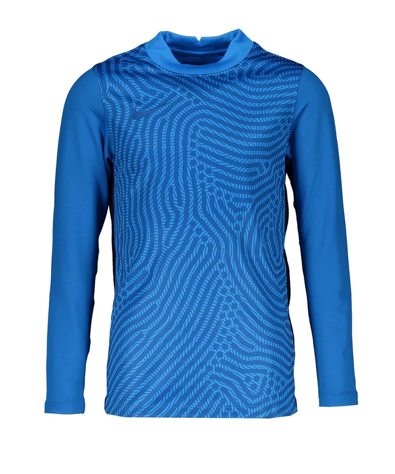 Nike Gardien III Torwarttrikot langarm Kids F477 - blau