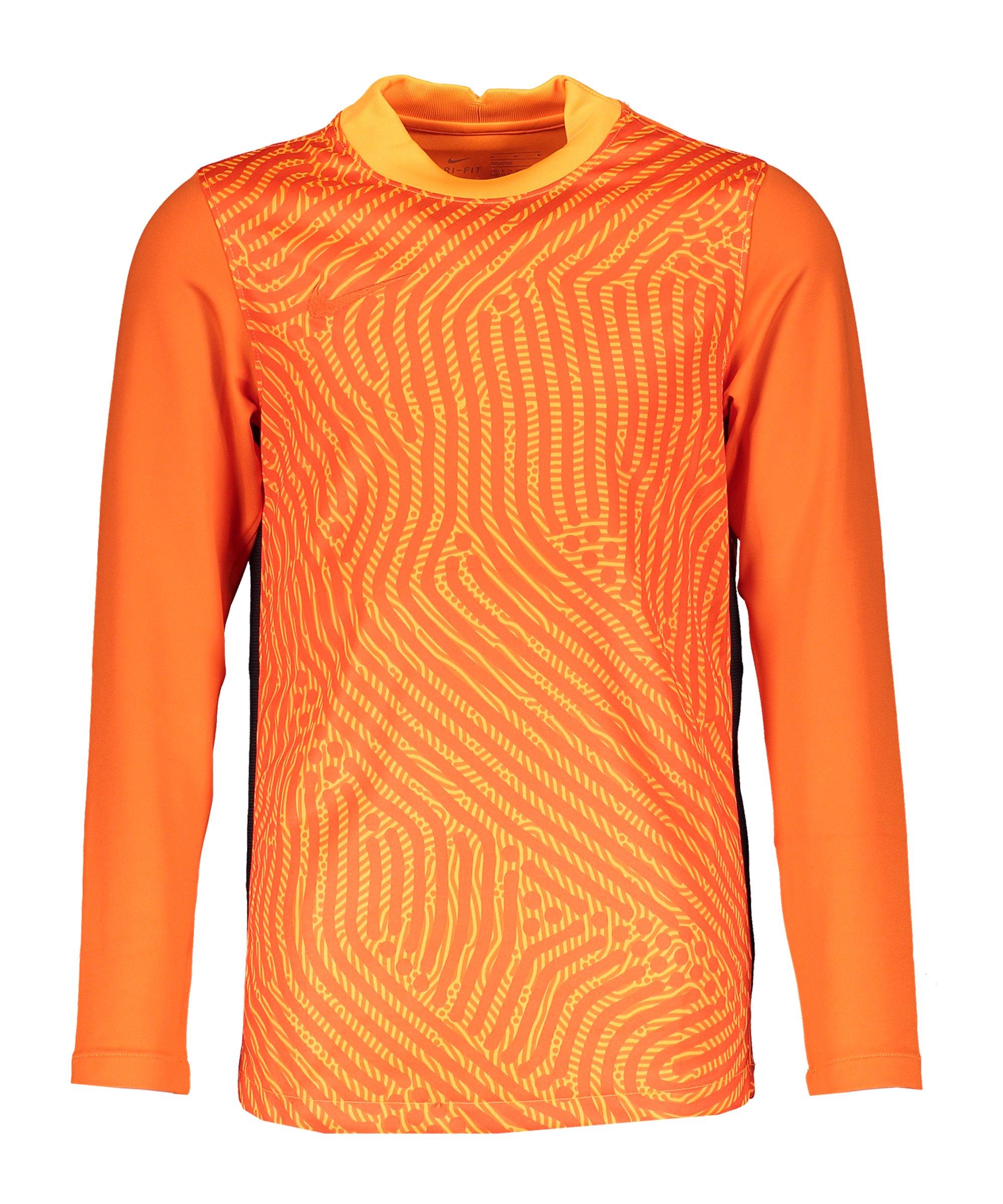 Nike Gardien III Torwarttrikot langarm Kids F891 - orange