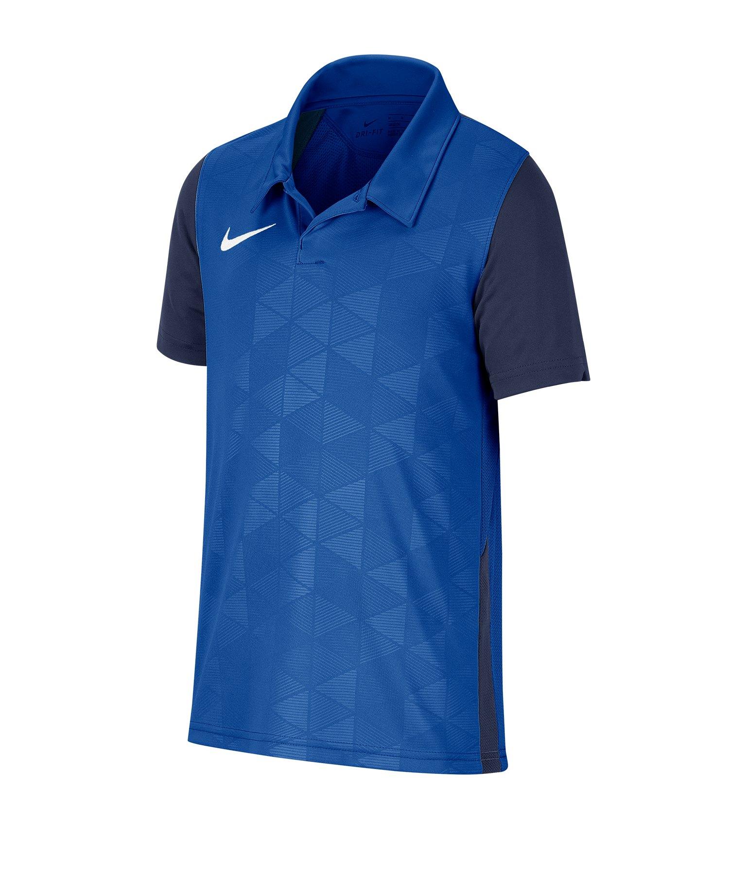 Nike Trophy IV Trikot kurzarm Kids Blau F483 - blau