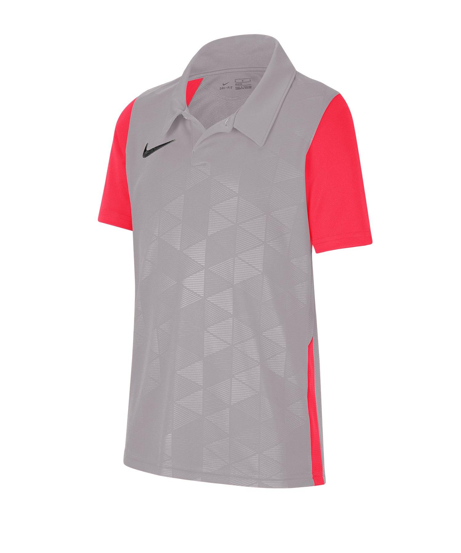 Nike Trophy IV Trikot kurzarm Kids Grau F052 - grau