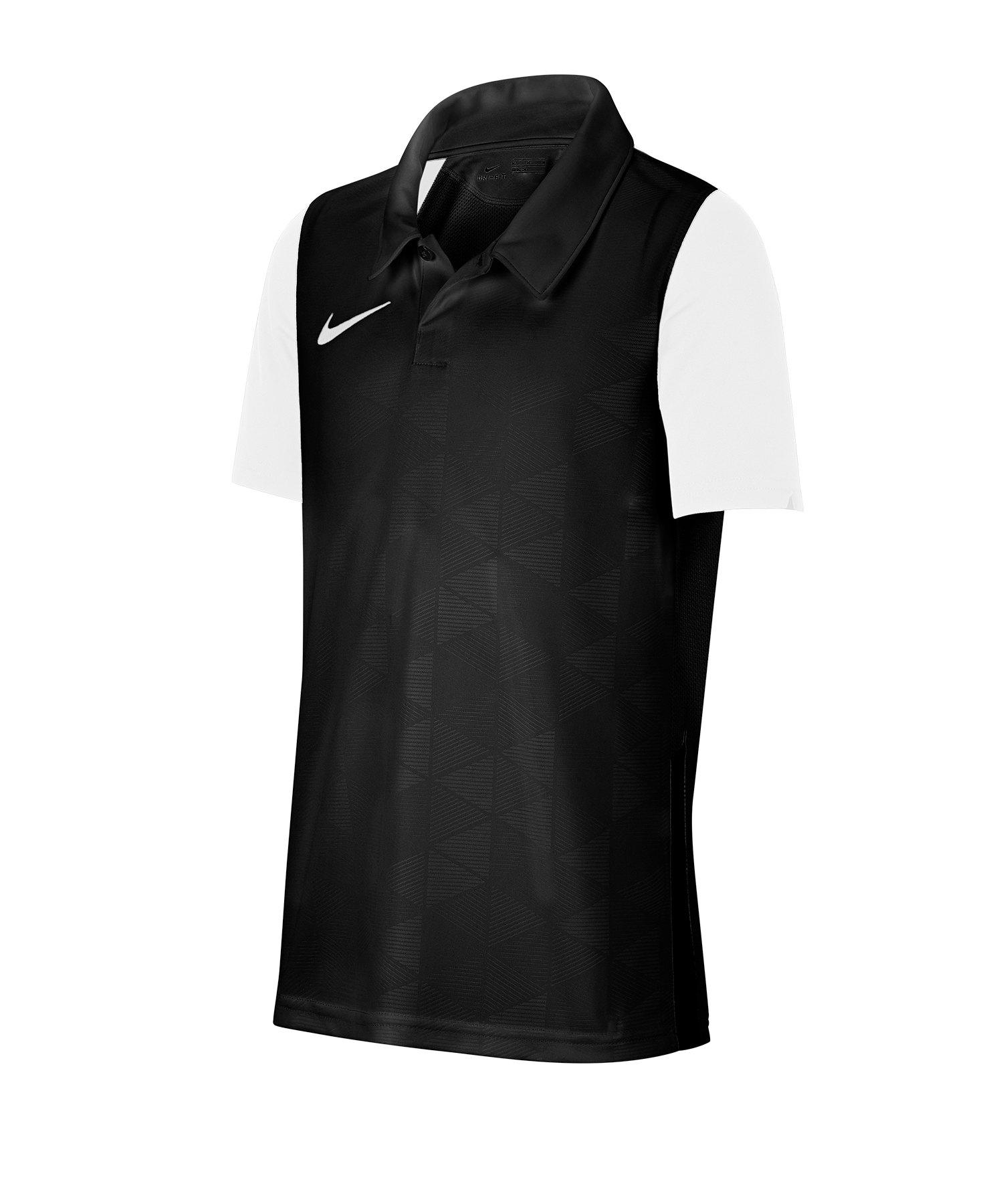 Nike Trophy IV Trikot kurzarm Kids Schwarz F010 - schwarz