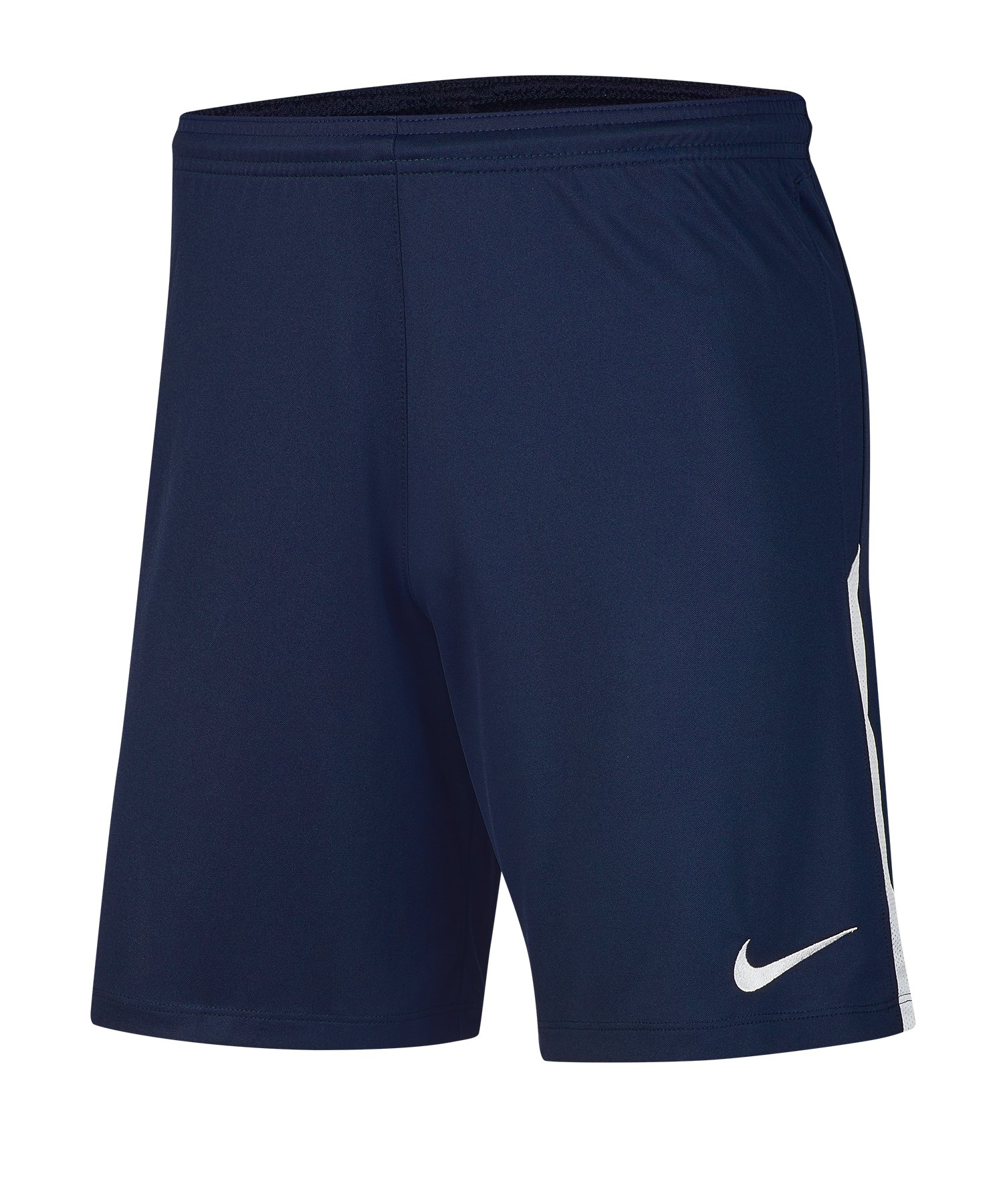 Nike League Knit II Short Blau Weiss F410 - blau