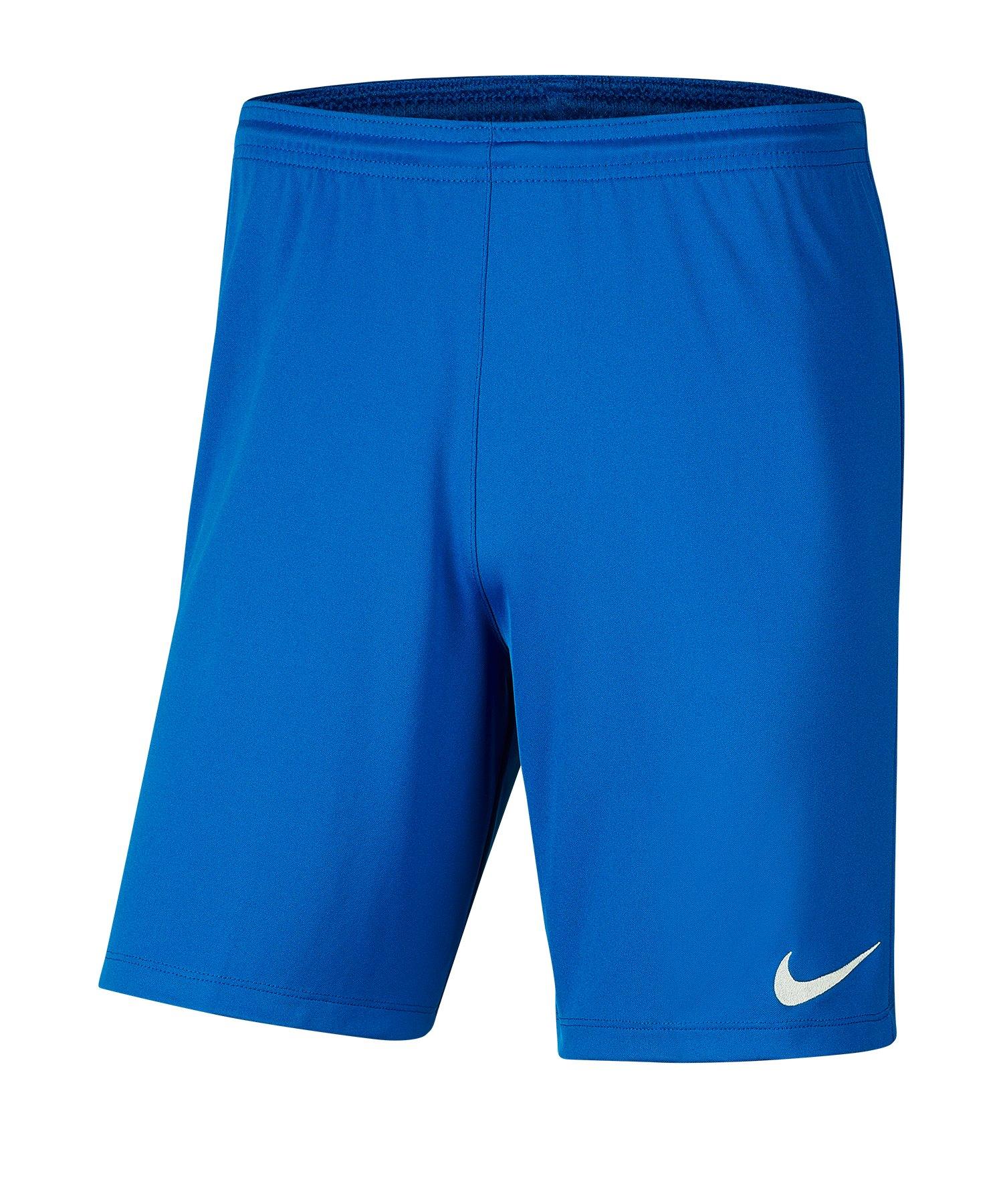 Nike Park III Short Blau F463 - blau