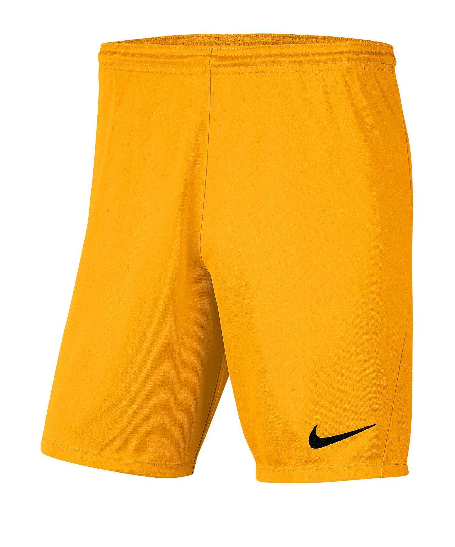 Nike Park III Short Orange F739 - orange