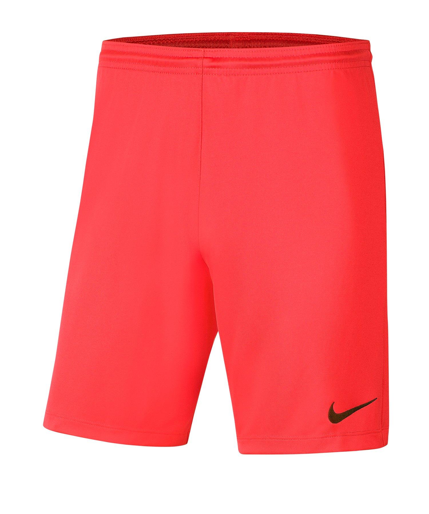 Nike Park III Short Rot F635 - rot
