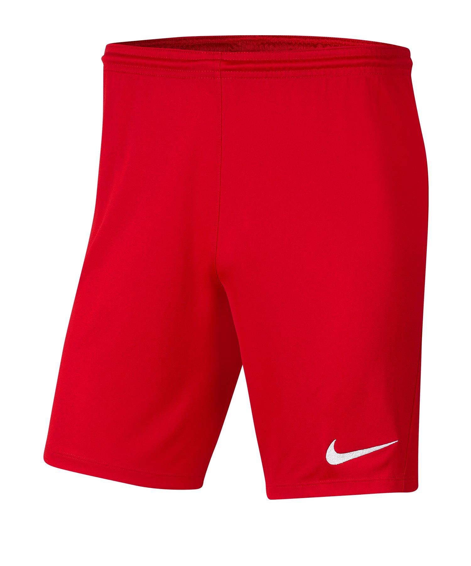 Nike Park III Short Rot F657 - rot
