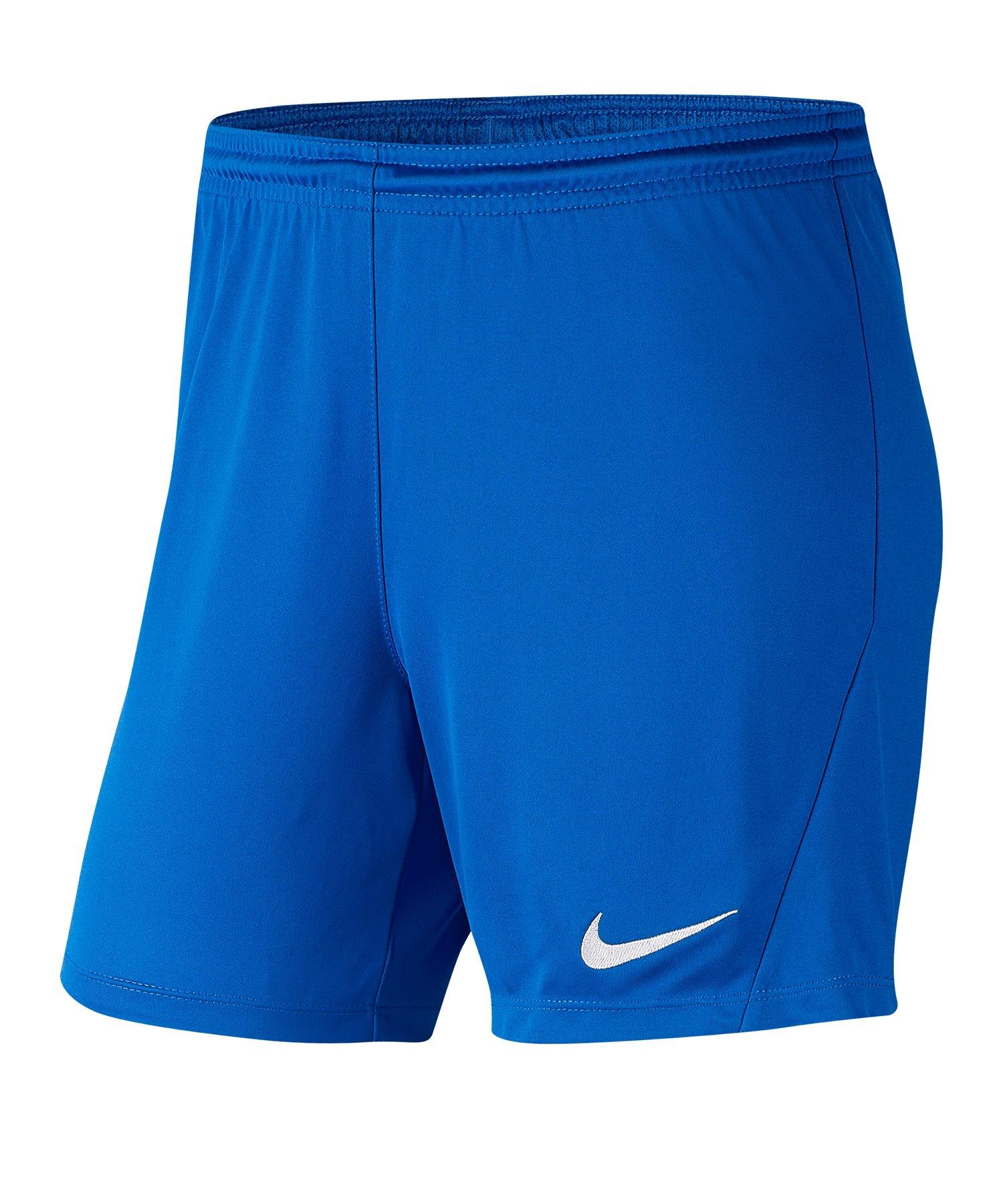 Nike Park III Short Damen Blau F463 - blau