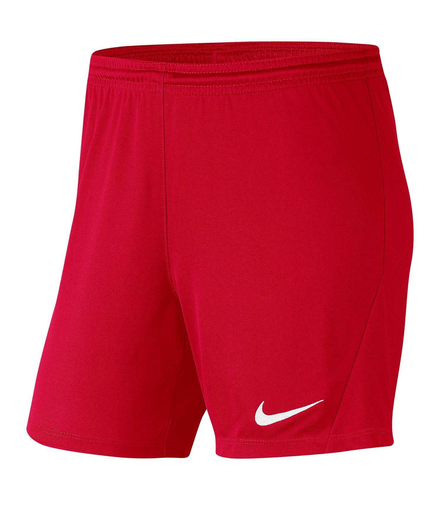 Nike Park III Short Damen Rot F657 - rot
