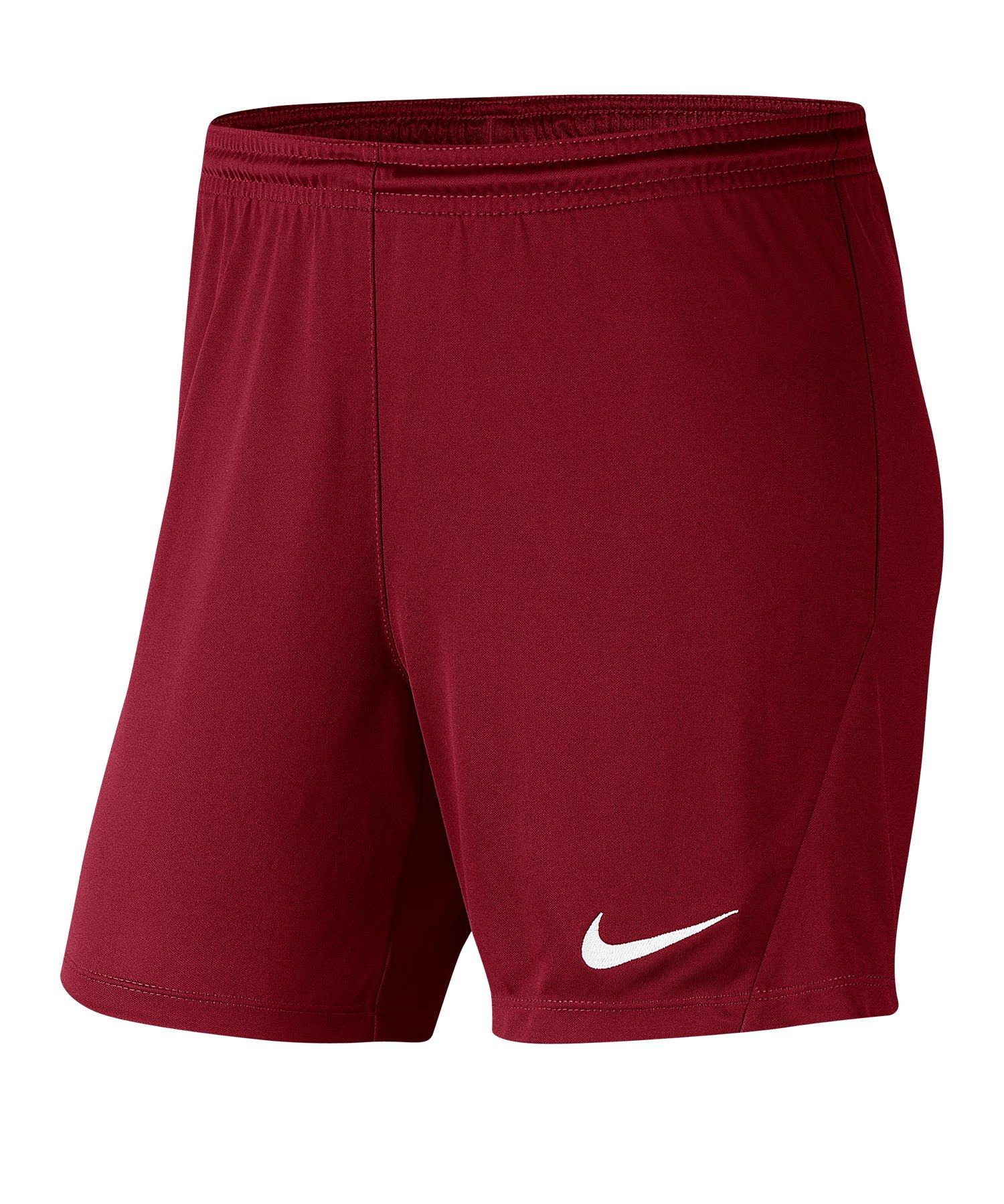 Nike Park III Short Damen Rot F677 - rot