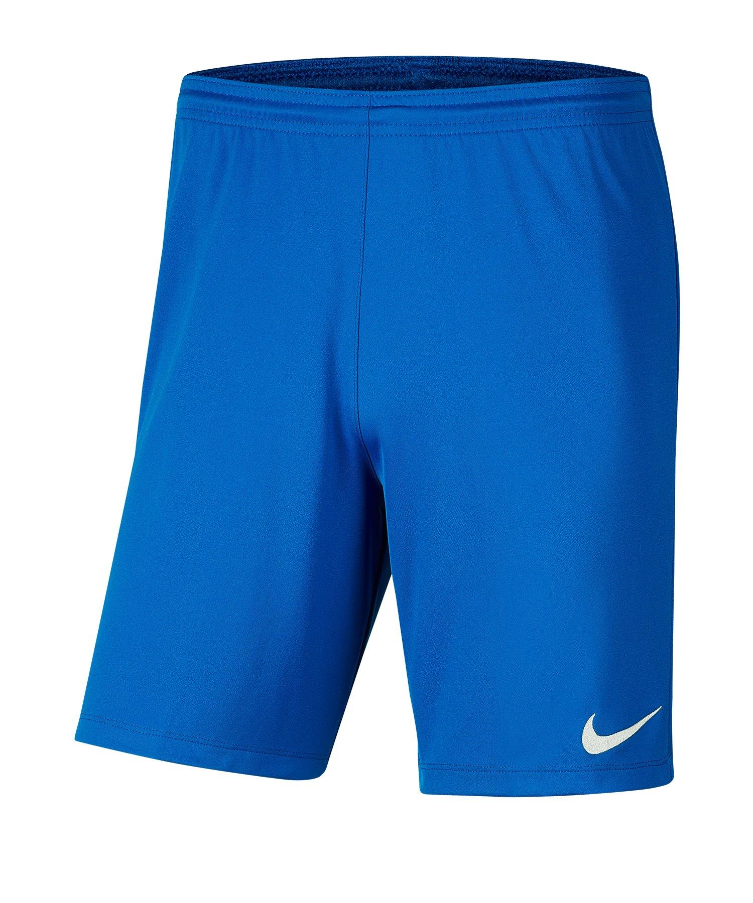 Nike Park III Short Kids Blau F463 - blau