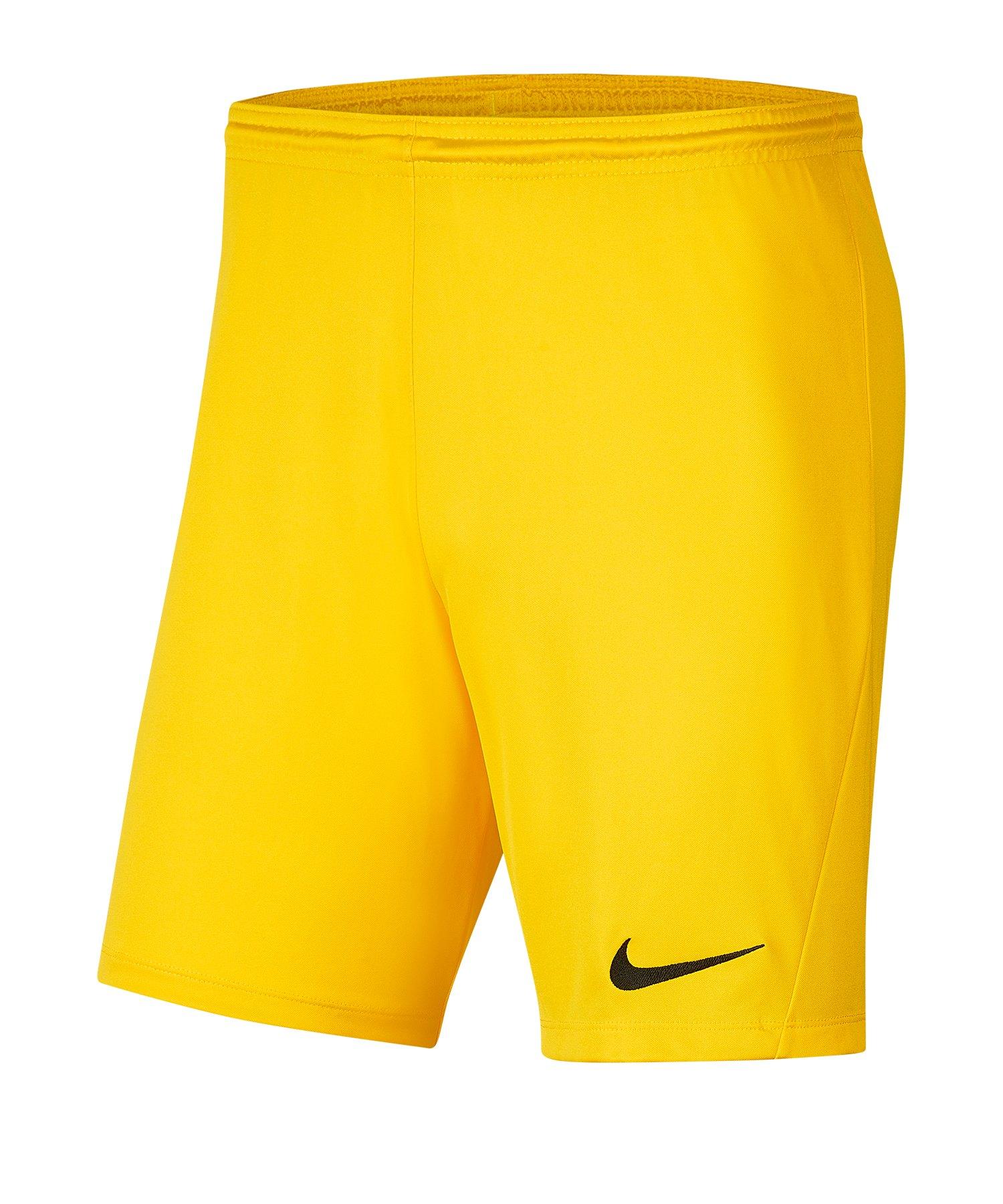 Nike Park III Short Kids Gelb F719 - gelb