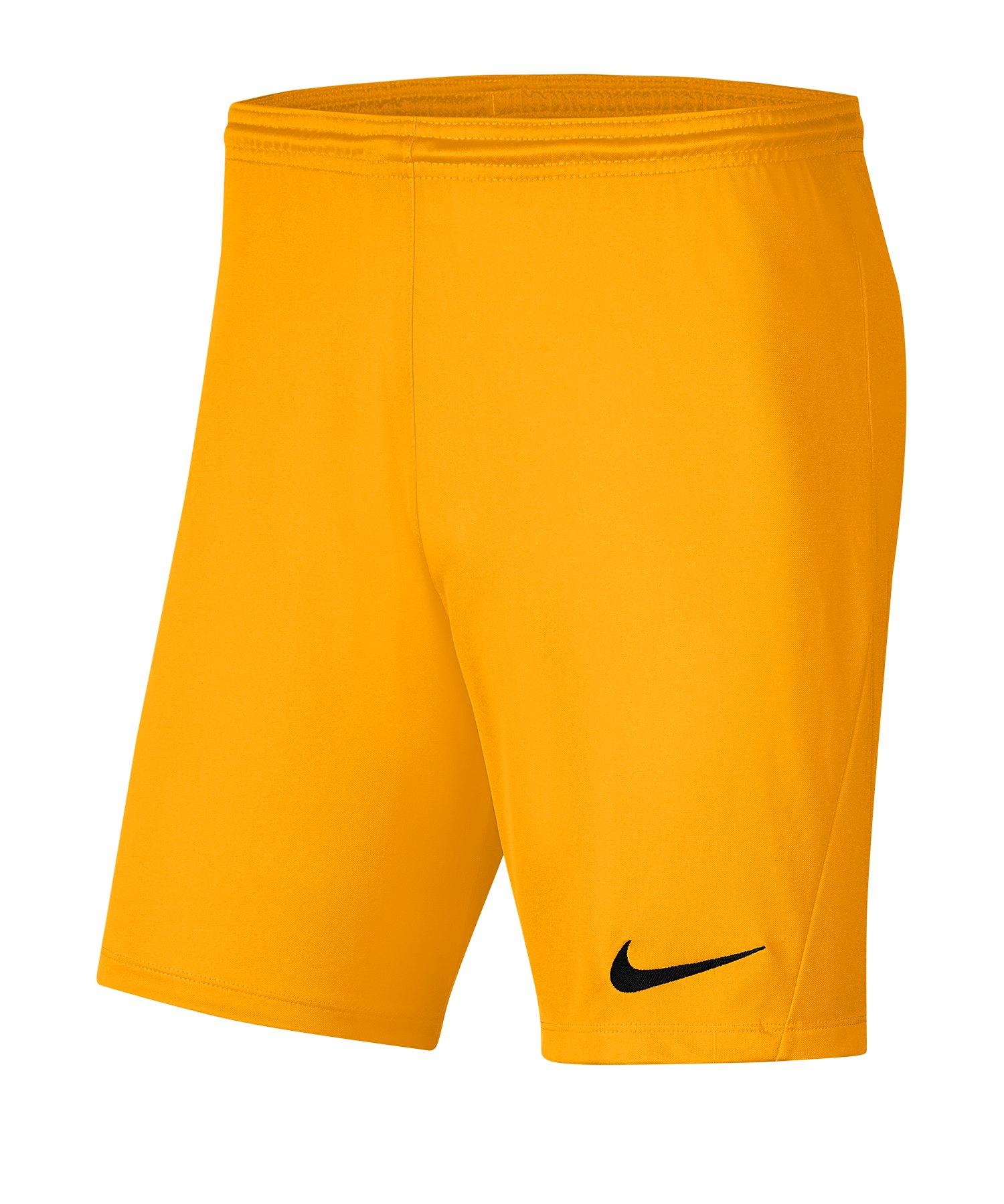 Nike Park III Short Kids Gelb F739 - gelb
