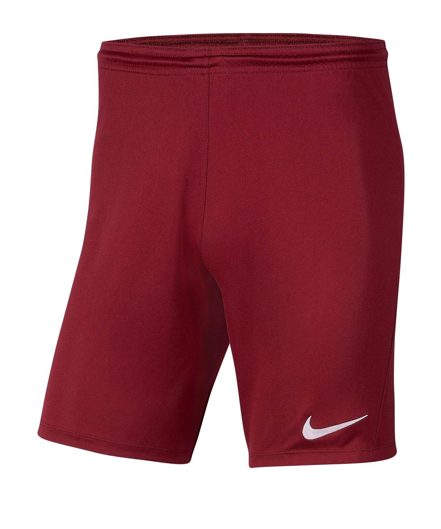Nike Park III Short Kids Rot F677 - rot