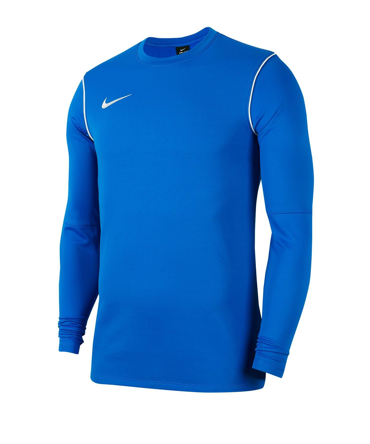 Nike Park 20 Training Sweatshirt Blau F463 - blau