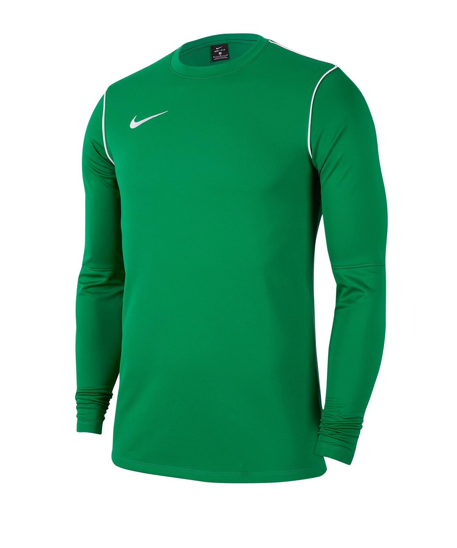 Nike Park 20 Training Sweatshirt Grün F302 - gruen